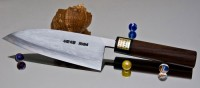 Moritaka AS Damaskus Deba 150mm - Интернет-магазин японских ножей MORITAKA