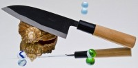 Moritaka A2 Standard Small Santoku 130mm - Интернет-магазин японских ножей MORITAKA